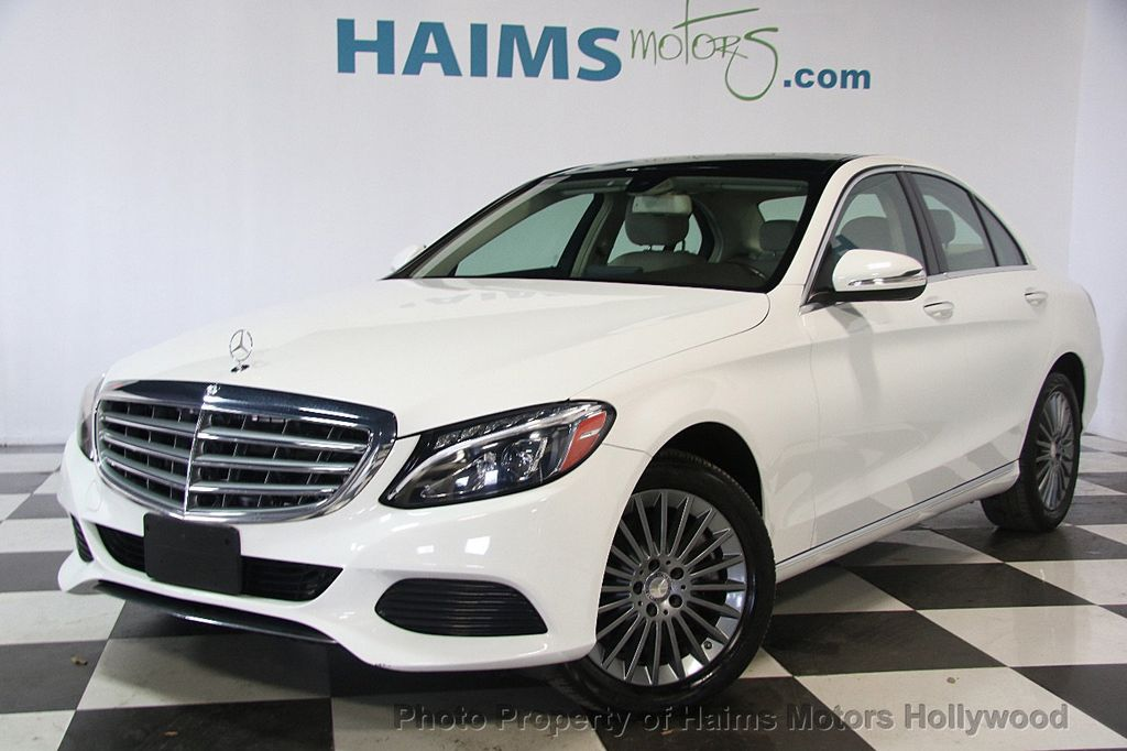 2015 used mercedes benz c class 4dr sedan c 300 4matic at haims motors serving fort lauderdale. Black Bedroom Furniture Sets. Home Design Ideas