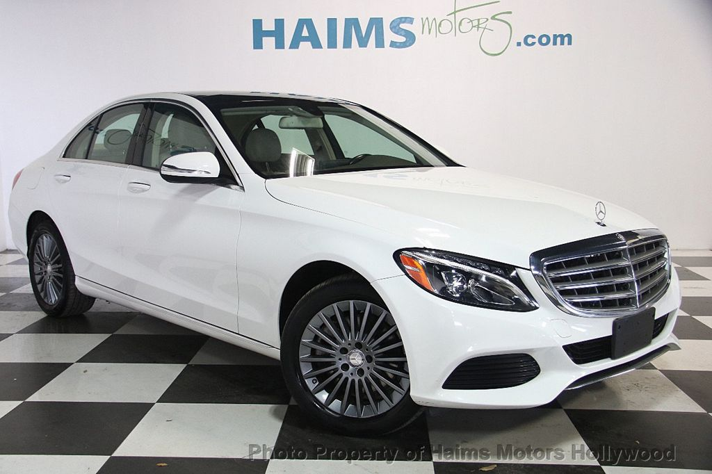 sedan inventory used class owned wheel all benz in door certified c drive mercedes pre