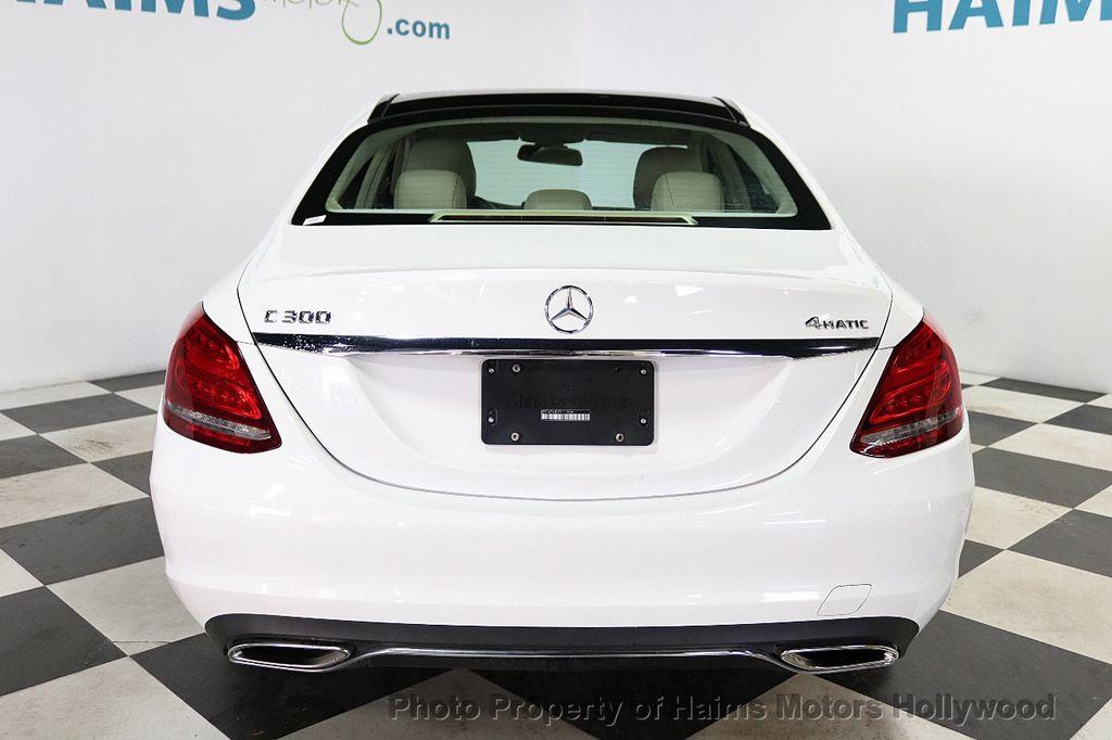 2015 Mercedes-Benz C-Class 4dr Sedan C 300 4MATIC - 18065824 - 5