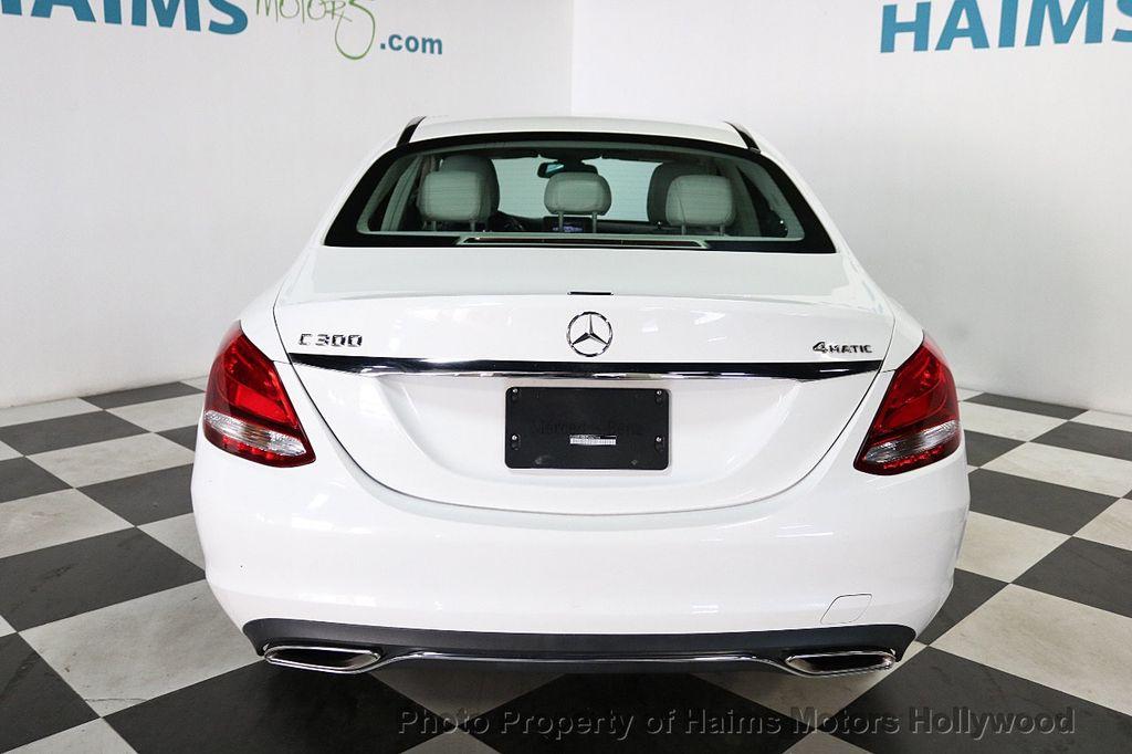 2015 Mercedes-Benz C-Class 4dr Sedan C 300 4MATIC - 18412375 - 5