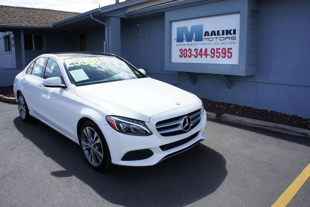 2015 Mercedes-Benz C-Class 4dr Sedan C 300 4MATIC - 17465343 - 0