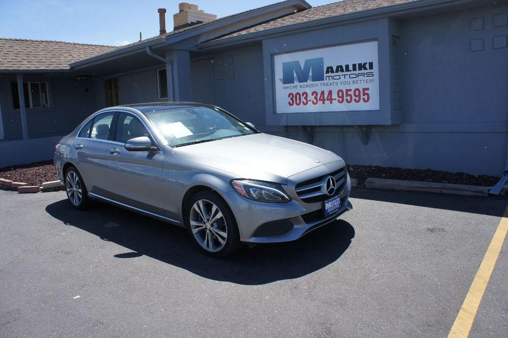 2015 Mercedes-Benz C-Class 4dr Sedan C 300 4MATIC - 17695707 - 0