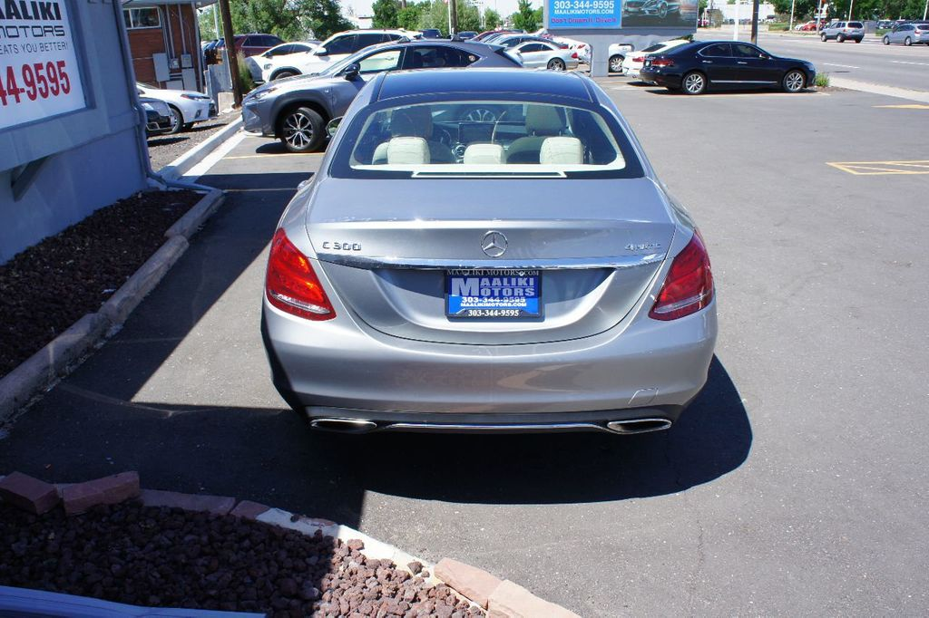 2015 Mercedes-Benz C-Class 4dr Sedan C 300 4MATIC - 17695707 - 4