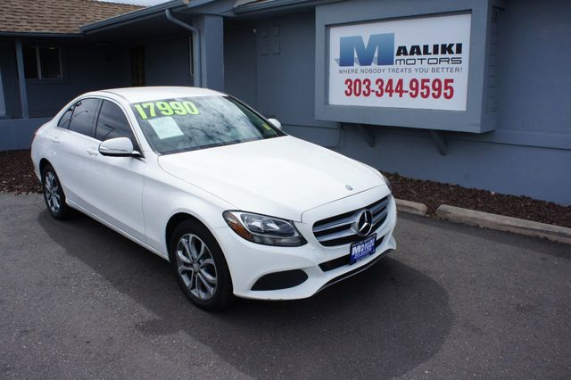 2015 Mercedes-Benz C-Class 4dr Sedan C 300 4MATIC - 18015307 - 0