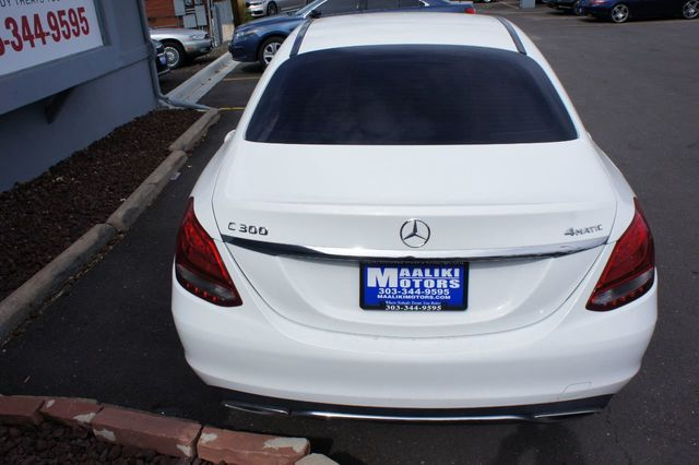 2015 Mercedes-Benz C-Class 4dr Sedan C 300 4MATIC - 18015307 - 4