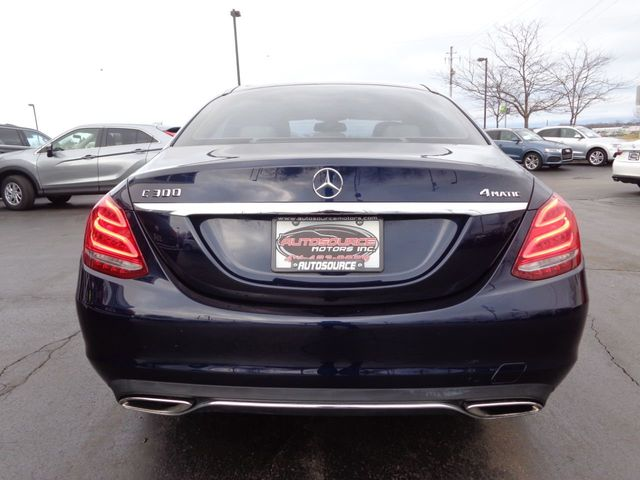 2015 Mercedes-Benz C-Class 4dr Sedan C 300 4MATIC - 18446275 - 6