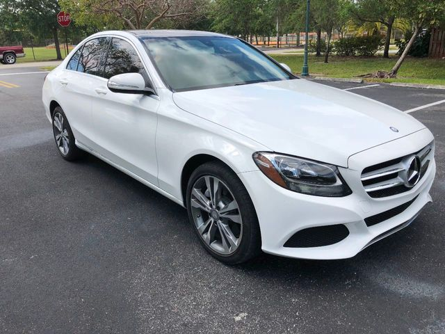 2015 Mercedes-Benz C-Class 4dr Sedan C 300 Luxury 4MATIC - Click to see full-size photo viewer