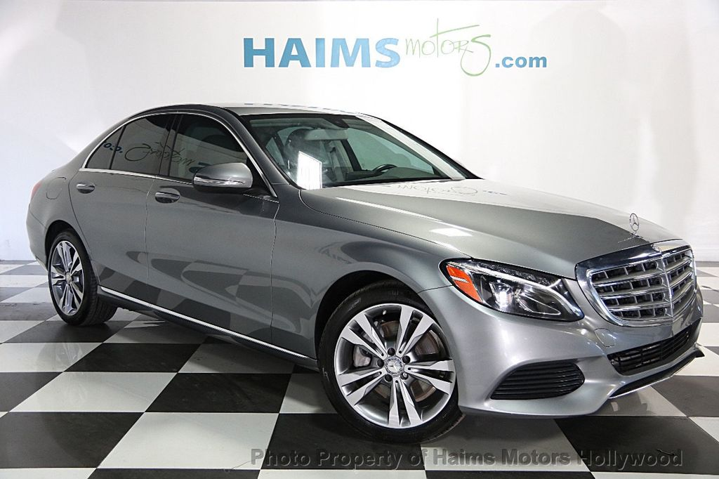 2015 used mercedes benz c class 4dr sedan c300 rwd at haims motors serving fort lauderdale. Black Bedroom Furniture Sets. Home Design Ideas