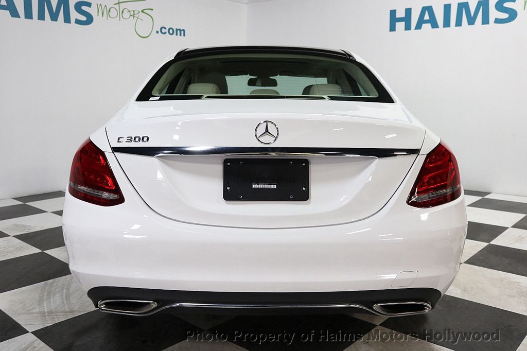 2015 Mercedes-Benz C-Class 4dr Sedan C 300 RWD - 17765037 - 5