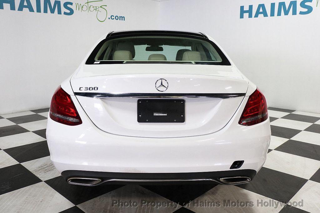 2015 Mercedes-Benz C-Class 4dr Sedan C 300 RWD - 17802205 - 5