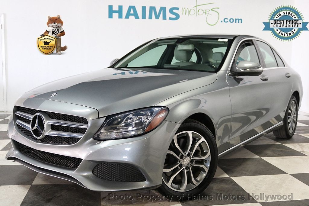 2015 Mercedes-Benz C-Class 4dr Sedan C 300 RWD - 18230854 - 0