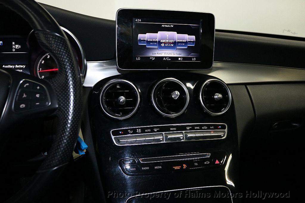 2015 Mercedes-Benz C-Class 4dr Sedan C 300 RWD - 18230854 - 18