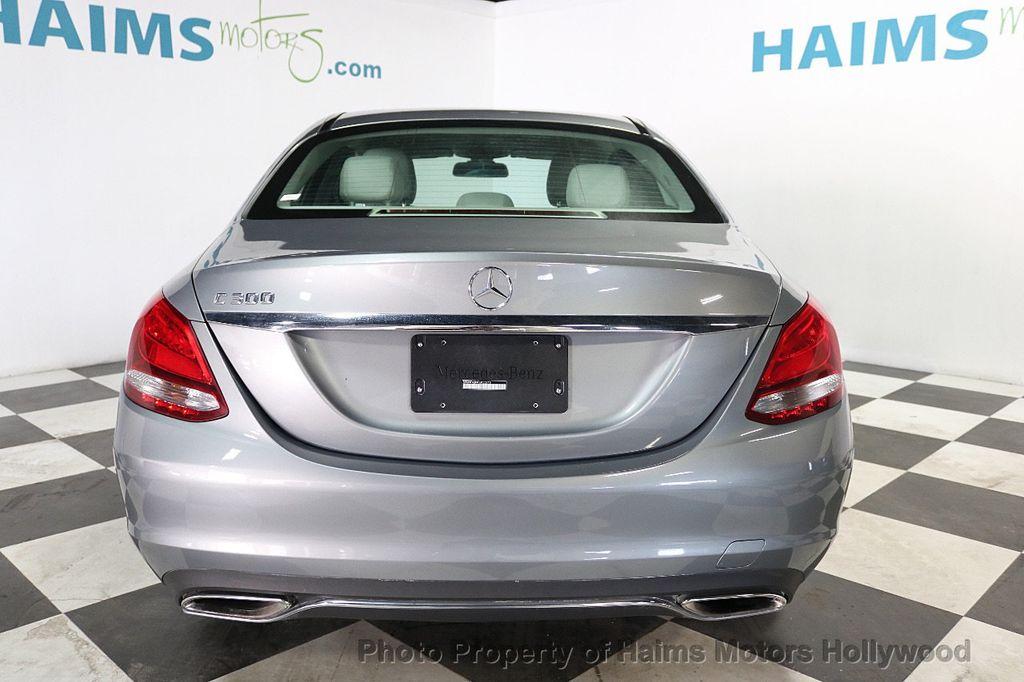 2015 Mercedes-Benz C-Class 4dr Sedan C 300 RWD - 18230854 - 5