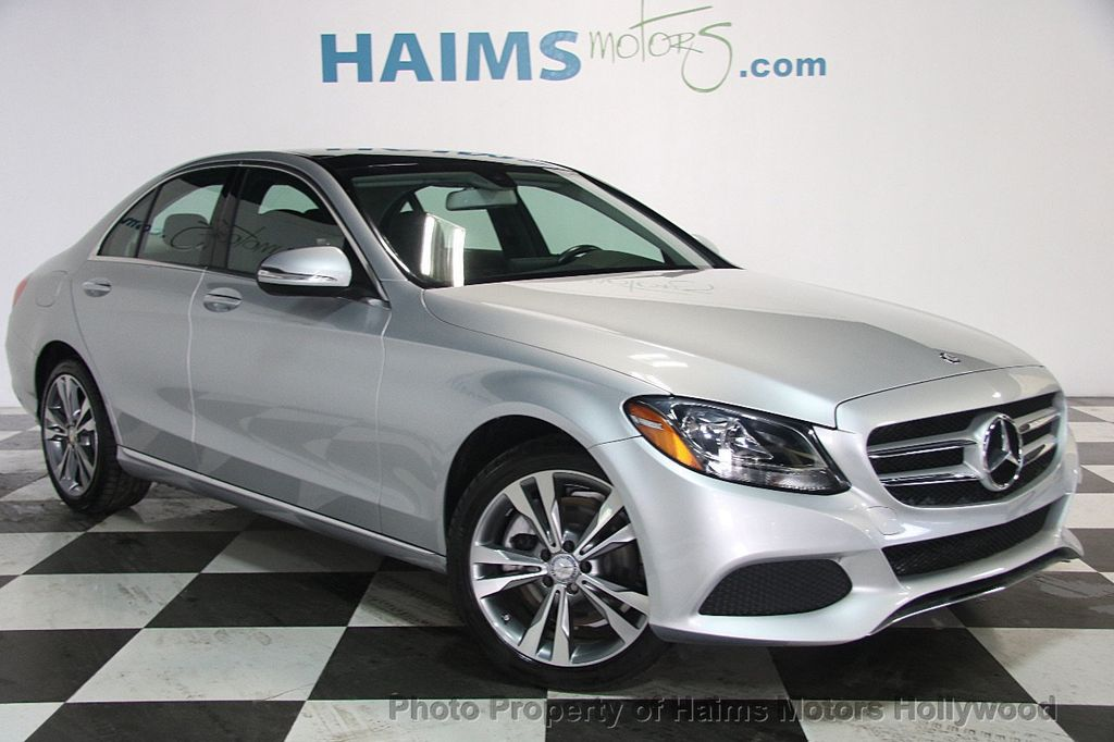 2015 used mercedes benz c class 4dr sedan c 300 sport for Mercedes benz used c class