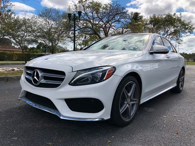 2015 Mercedes-Benz C-Class 4dr Sedan C 400 4MATIC