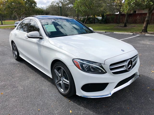 2015 Mercedes-Benz C-Class 4dr Sedan C 400 4MATIC - Click to see full-size photo viewer