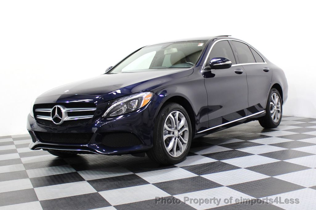 2015 Mercedes-Benz C-Class CERTIFIED C300 4Matic AWD Blind Spot LED CAM NAVI - 17537733 - 14