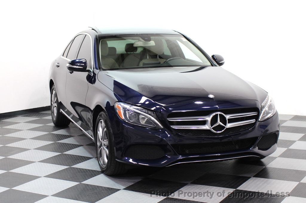 2015 Mercedes-Benz C-Class CERTIFIED C300 4Matic AWD Blind Spot LED CAM NAVI - 17537733 - 15