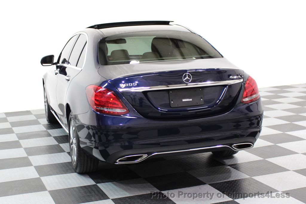 2015 Mercedes-Benz C-Class CERTIFIED C300 4Matic AWD Blind Spot LED CAM NAVI - 17537733 - 16