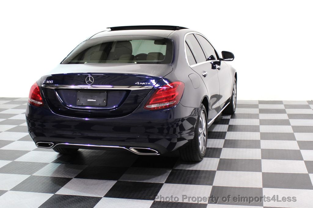 2015 Mercedes-Benz C-Class CERTIFIED C300 4Matic AWD Blind Spot LED CAM NAVI - 17537733 - 18