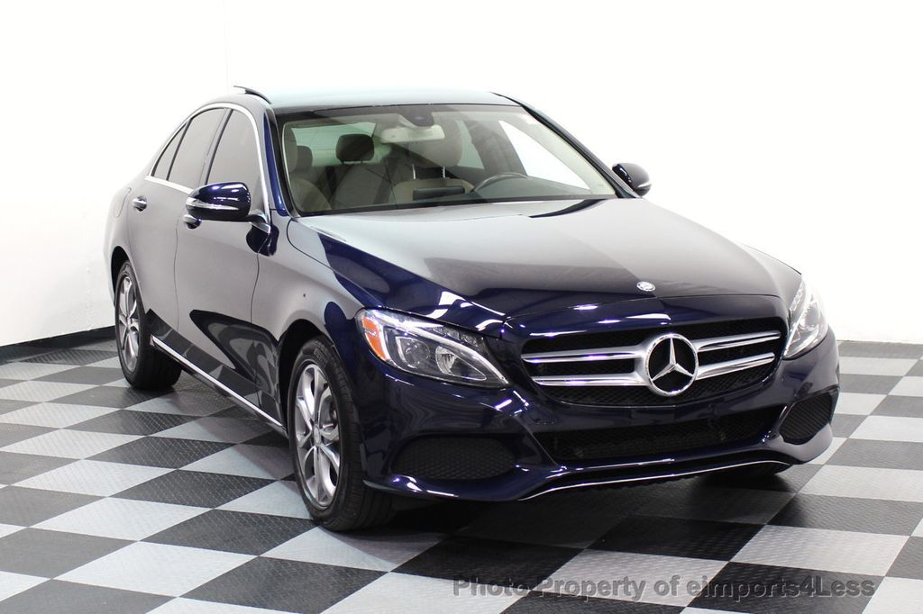 2015 Mercedes-Benz C-Class CERTIFIED C300 4Matic AWD Blind Spot LED CAM NAVI - 17537733 - 1