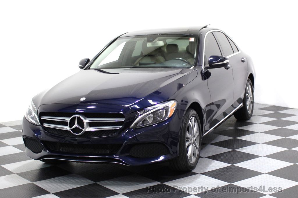 2015 Mercedes-Benz C-Class CERTIFIED C300 4Matic AWD Blind Spot LED CAM NAVI - 17537733 - 27