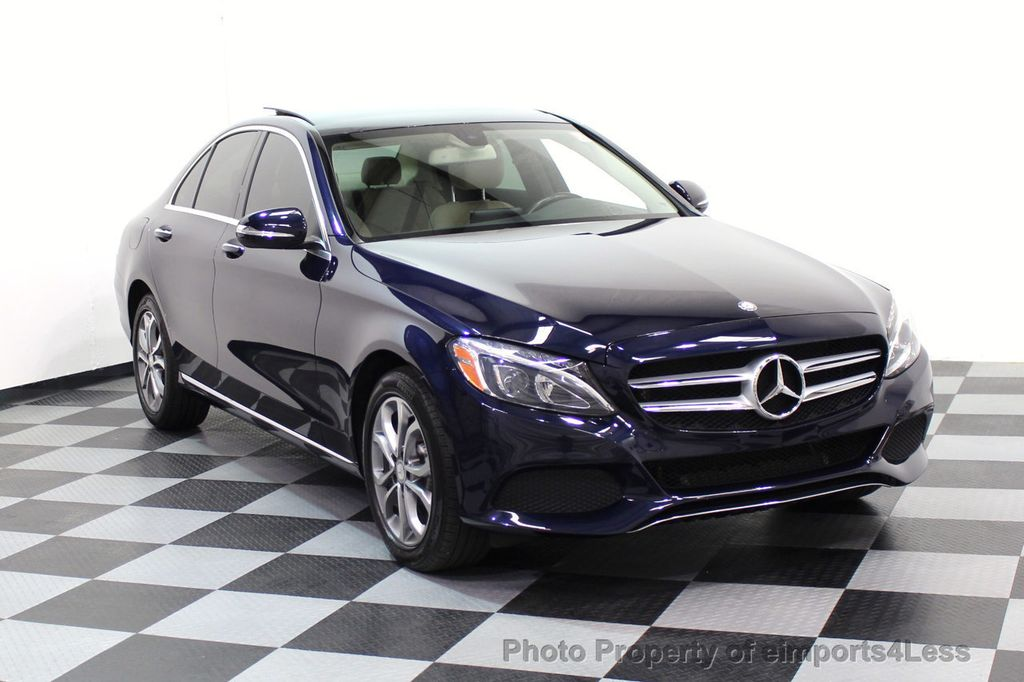 2015 Mercedes-Benz C-Class CERTIFIED C300 4Matic AWD Blind Spot LED CAM NAVI - 17537733 - 28