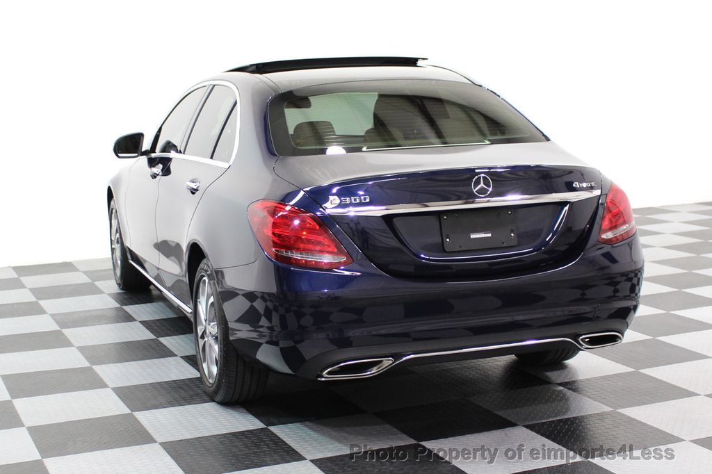 2015 Mercedes-Benz C-Class CERTIFIED C300 4Matic AWD Blind Spot LED CAM NAVI - 17537733 - 2