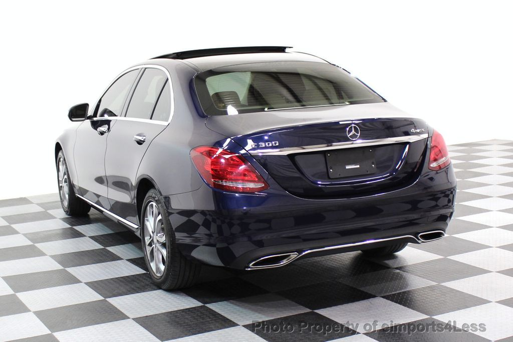 2015 Mercedes-Benz C-Class CERTIFIED C300 4Matic AWD Blind Spot LED CAM NAVI - 17537733 - 29