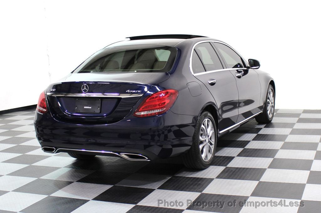 2015 Mercedes-Benz C-Class CERTIFIED C300 4Matic AWD Blind Spot LED CAM NAVI - 17537733 - 3