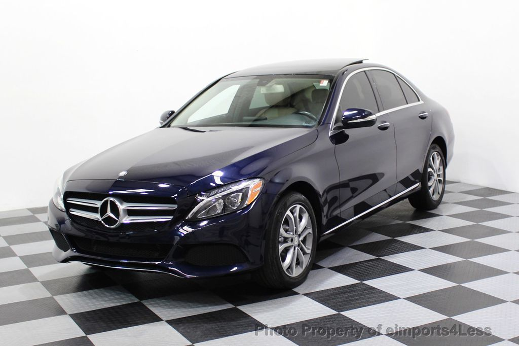 2015 Mercedes-Benz C-Class CERTIFIED C300 4Matic AWD Blind Spot LED CAM NAVI - 17537733 - 43