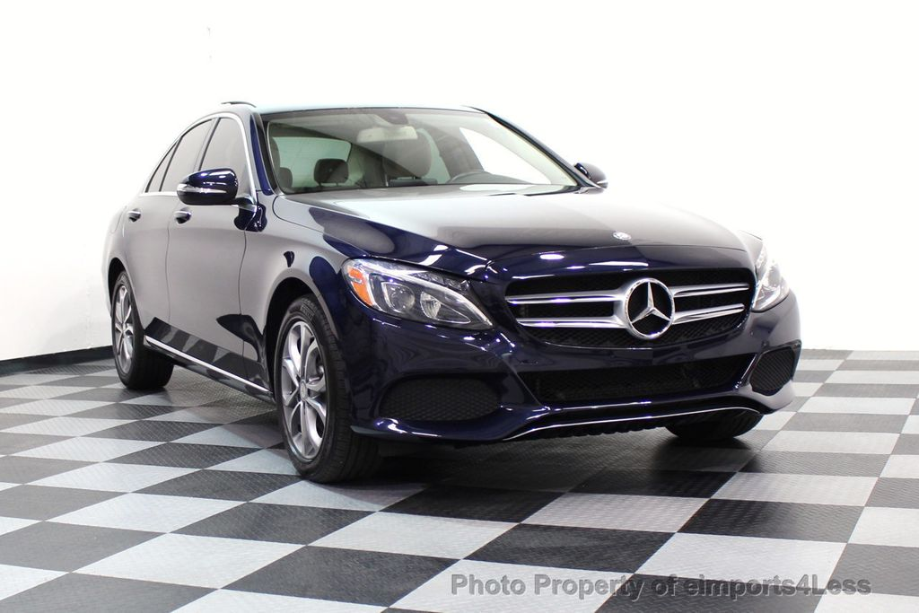 2015 Mercedes-Benz C-Class CERTIFIED C300 4Matic AWD Blind Spot LED CAM NAVI - 17537733 - 44