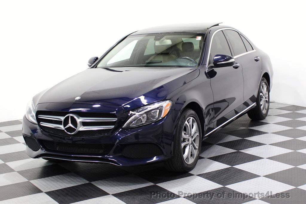 2015 Mercedes-Benz C-Class CERTIFIED C300 4Matic AWD Blind Spot LED CAM NAVI - 17537733 - 47
