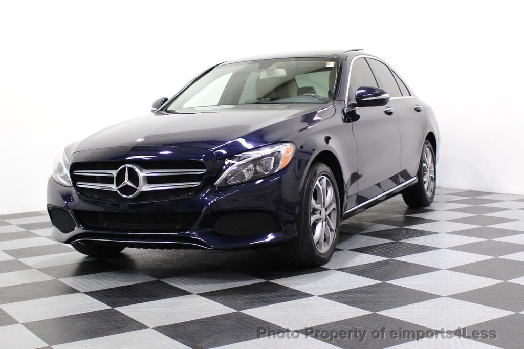 2015 Mercedes-Benz C-Class CERTIFIED C300 4Matic AWD Blind Spot LED CAM NAVI - 17537733 - 48
