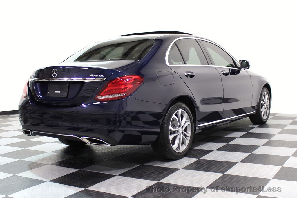 2015 Mercedes-Benz C-Class CERTIFIED C300 4Matic AWD Blind Spot LED CAM NAVI - 17537733 - 50
