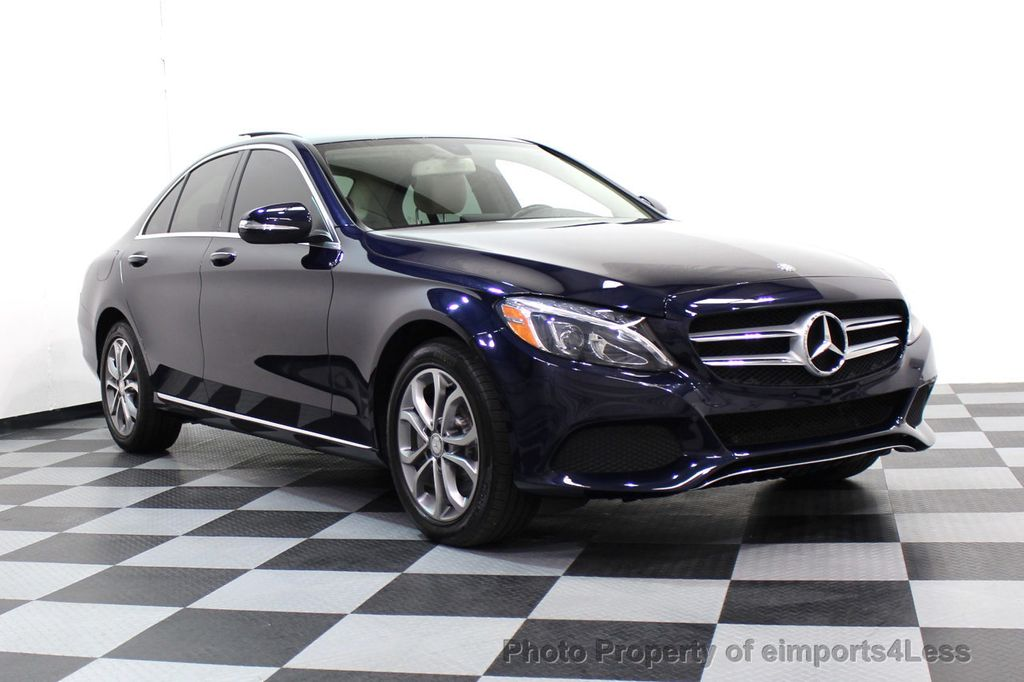 2015 Mercedes-Benz C-Class CERTIFIED C300 4Matic AWD Blind Spot LED CAM NAVI - 17537733 - 51