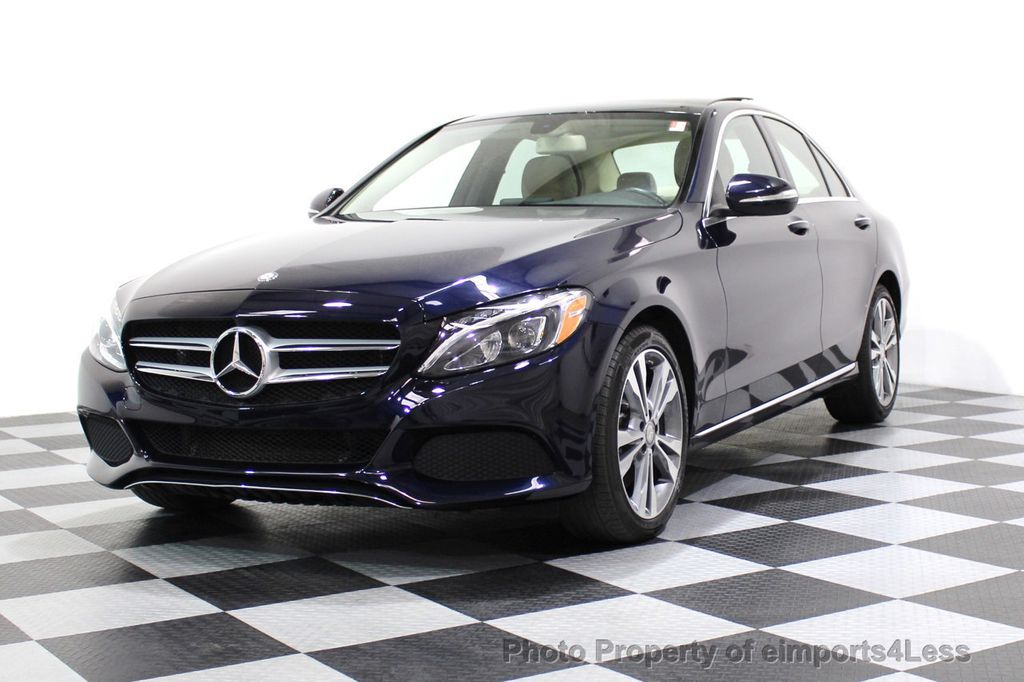 2015 Mercedes-Benz C-Class CERTIFIED C300 4Matic AWD Blind Spot LED PANO CAM NAVI - 17490665 - 13