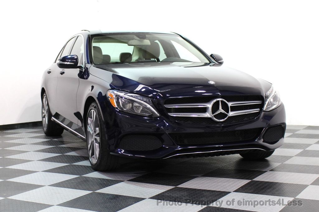 2015 Mercedes-Benz C-Class CERTIFIED C300 4Matic AWD Blind Spot LED PANO CAM NAVI - 17490665 - 14