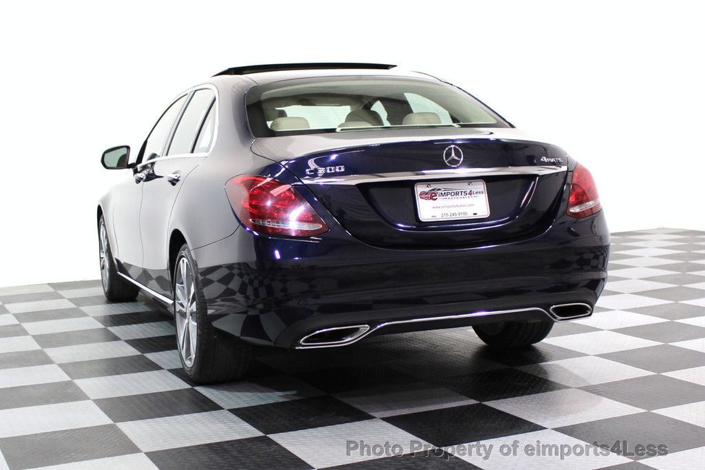 2015 Mercedes-Benz C-Class CERTIFIED C300 4Matic AWD Blind Spot LED PANO CAM NAVI - 17490665 - 15