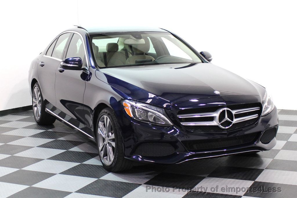 2015 Mercedes-Benz C-Class CERTIFIED C300 4Matic AWD Blind Spot LED PANO CAM NAVI - 17490665 - 1