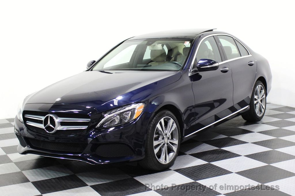 2015 Mercedes-Benz C-Class CERTIFIED C300 4Matic AWD Blind Spot LED PANO CAM NAVI - 17490665 - 28