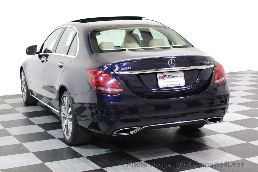 2015 Mercedes-Benz C-Class CERTIFIED C300 4Matic AWD Blind Spot LED PANO CAM NAVI - 17490665 - 2