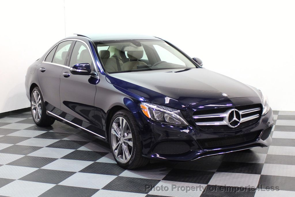 2015 Mercedes-Benz C-Class CERTIFIED C300 4Matic AWD Blind Spot LED PANO CAM NAVI - 17490665 - 29