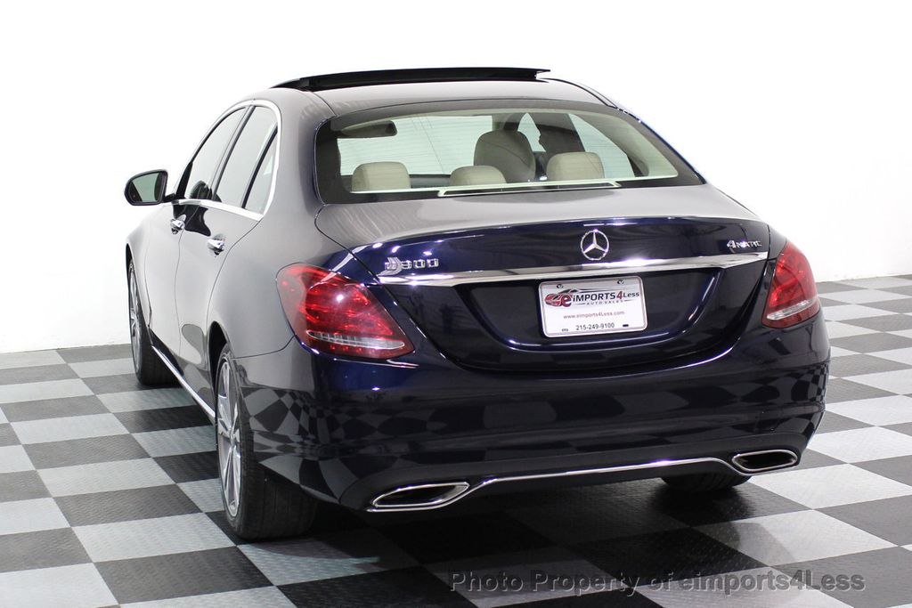 2015 Mercedes-Benz C-Class CERTIFIED C300 4Matic AWD Blind Spot LED PANO CAM NAVI - 17490665 - 30