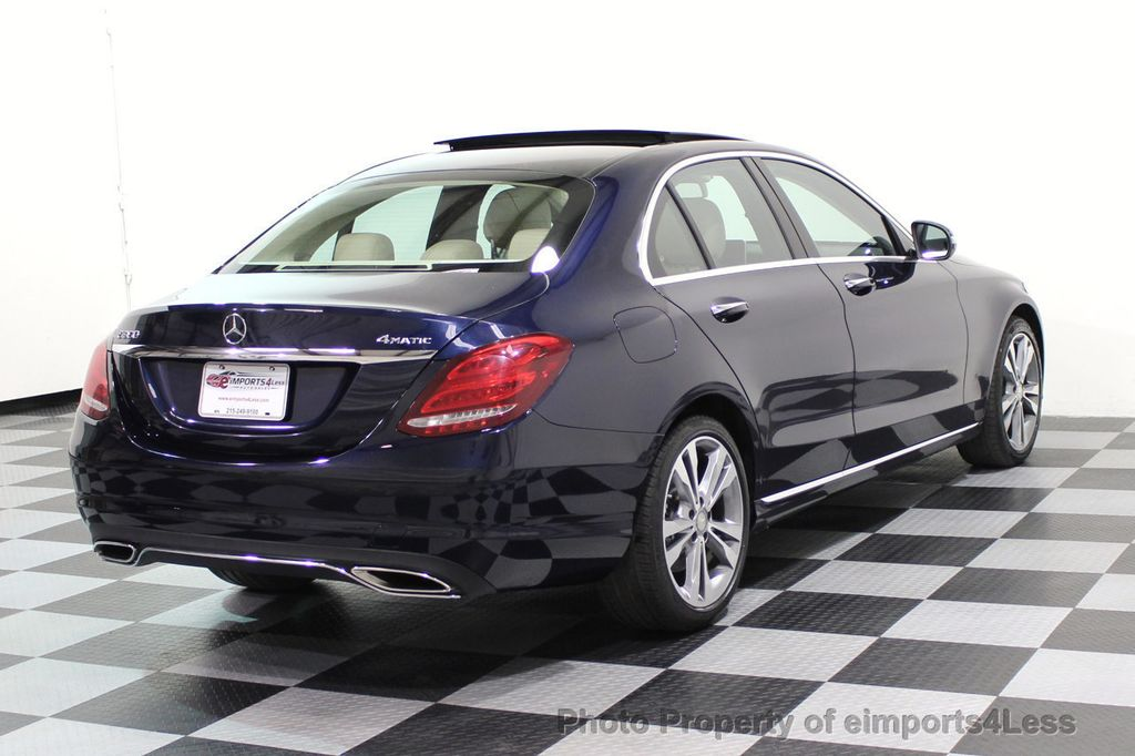 2015 Mercedes-Benz C-Class CERTIFIED C300 4Matic AWD Blind Spot LED PANO CAM NAVI - 17490665 - 3