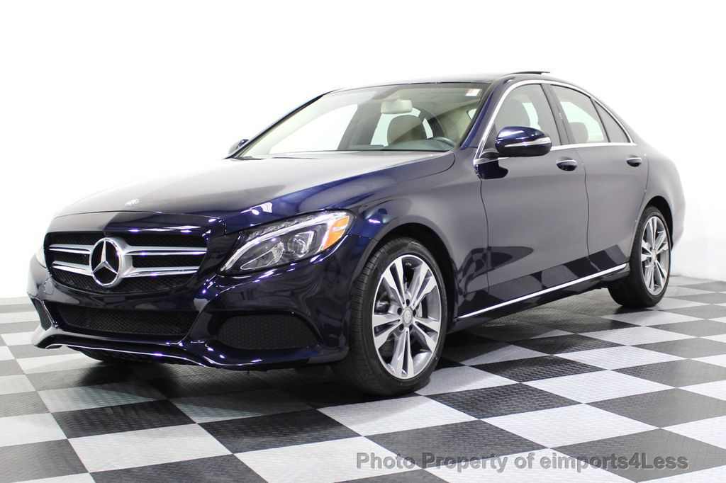 2015 Mercedes-Benz C-Class CERTIFIED C300 4Matic AWD Blind Spot LED PANO CAM NAVI - 17490665 - 47