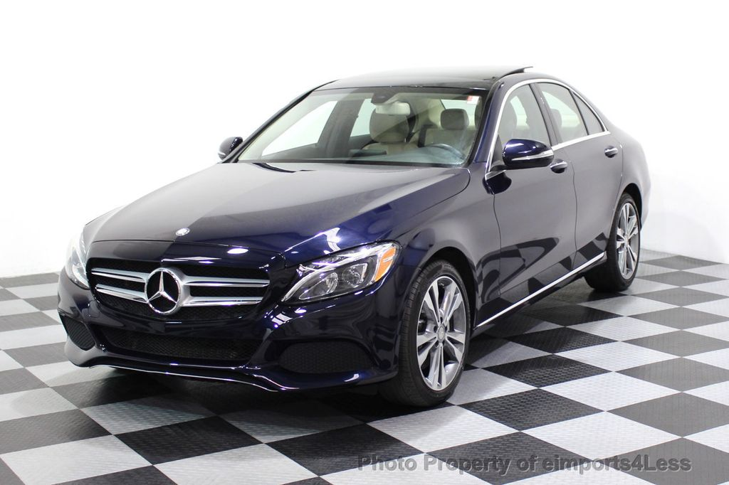 2015 Mercedes-Benz C-Class CERTIFIED C300 4Matic AWD Blind Spot LED PANO CAM NAVI - 17490665 - 48