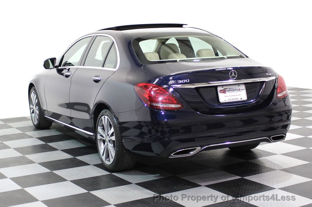 2015 Mercedes-Benz C-Class CERTIFIED C300 4Matic AWD Blind Spot LED PANO CAM NAVI - 17490665 - 49