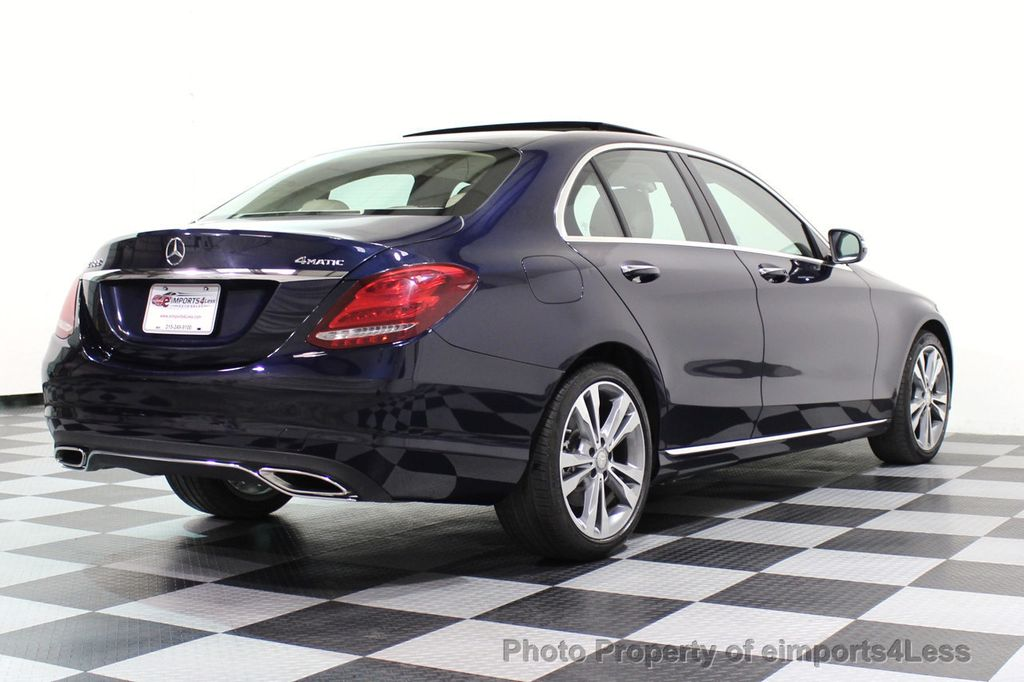2015 Mercedes-Benz C-Class CERTIFIED C300 4Matic AWD Blind Spot LED PANO CAM NAVI - 17490665 - 50