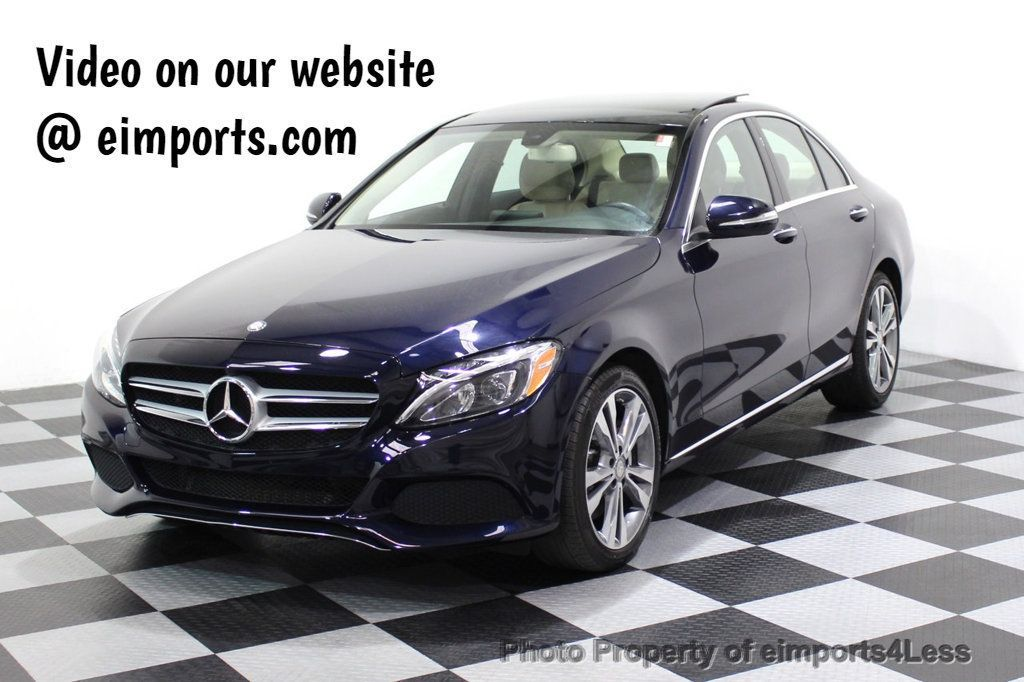 2015 Mercedes-Benz C-Class CERTIFIED C300 4Matic AWD Blind Spot LED PANO CAM NAVI - 17490665 - 51